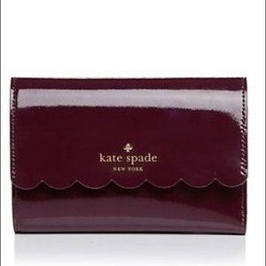 KATE SPADE lily Avenue patent Kieran wallet